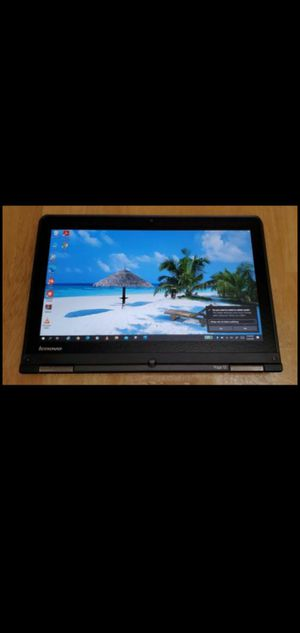 "Lenovo thinkpad yoga Touchscreen 13""intel i5-2,5gz, 200gb SSD, 4GB RAM, Windows 10, super fast laptop tablet for Sale in Los Angeles, CA"