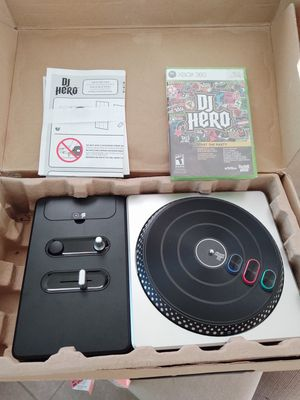 DJ Hero (turntable and game) for Xbox 360 for Sale in Chula Vista, CA