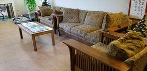 $350 OBO Solid Wood livingroom set for Sale in Las Vegas, NV