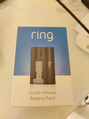Ring Doorbell 2 Battery for Sale in HUNTINGTN BCH, CA