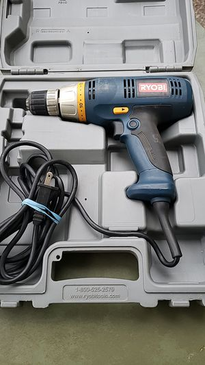 Ryobi D46C Corded Drill Motor 120V 3/8 for Sale in Kent, WA