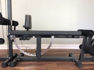 Iron Master Bench Press And Leg Extender Home Gym for Sale in Brooklyn, NY