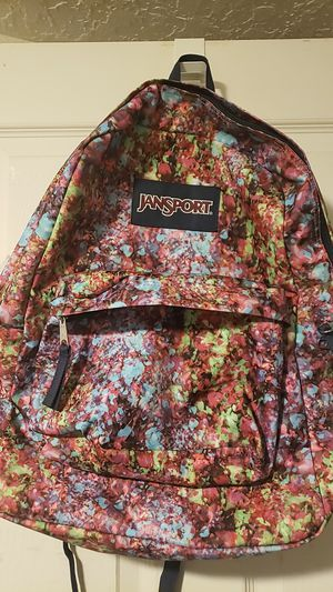 Jansport RainbowPrint Backpack GREAT PRESENT for Sale in Portland, OR