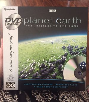 Planet Earth Interactive DVD Game for Sale in Roy, WA