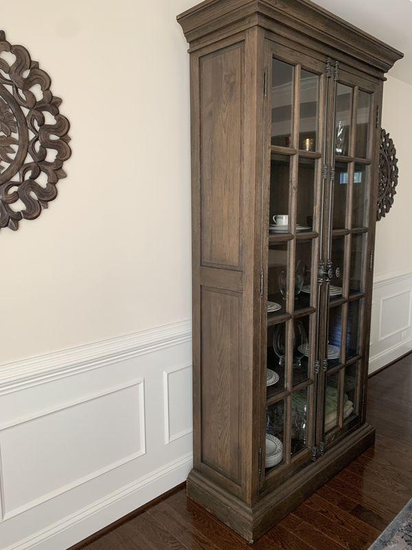 Restoration Hardware French Casement Double Door Cabinet
