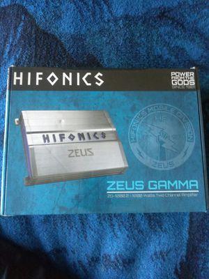 Hifonics Zeus gamma 1200 w for Sale in Oakland, CA