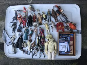 Star wars toy collection for Sale in Modesto, CA