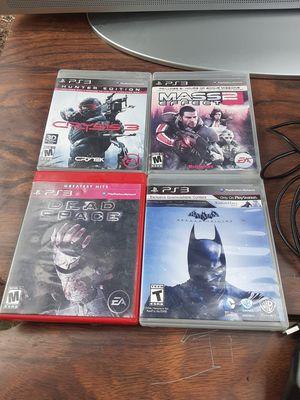 PS3 games bundle for Sale in Washington, DC