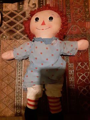 Raggedy Ann doll for Sale in Kansas City, MO