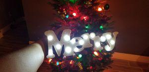 "Christmas Light - ""Merry"" - New for Sale in Tarpon Springs, FL"