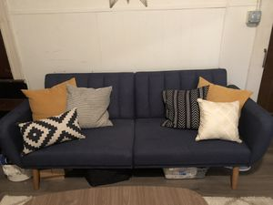 Blue Futon for Sale in Baltimore, MD