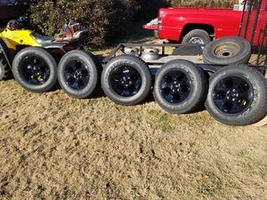 (5) 2015 Jeep Altitude Wheels and Tires for Sale in Winchester, TN