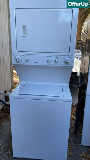 Laundry Center Kenmore Washer Electric Dryer Set Works Perfect #1266 for Sale in Orlando, FL