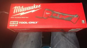 Milwaukee M18 multitool for Sale in Seattle, WA