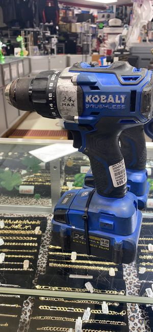 Kobalt 24v drill set with 2 batteries and charger for Sale in Hope Mills, NC