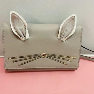 Kate Spade Rabbit Winni Hop To It Crossbody Bag Purse WalletPurse Wallet for Sale in Chelsea, MA