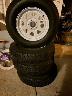 205/75/15 trailer Tires 4$310 for Sale in Wheaton, MD