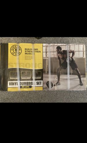 Gold Gym Dumbells for Sale in Anaheim, CA
