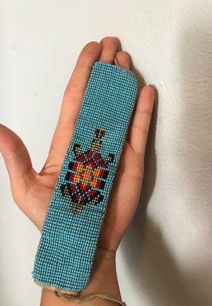 Native beaded turtle bracelet for Sale in Bellevue, WA
