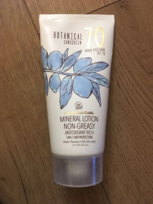 Botanical Mineral Sunscreen 70 SPF for Sale in Palo Alto, CA