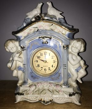 Angel & Bird Antique Statue Clock for Sale in The Bronx, NY