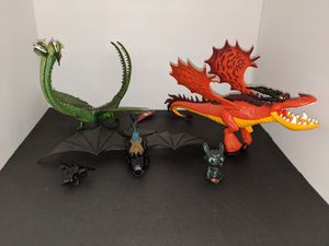 How to train your dragon toys for Sale in Tacoma, WA