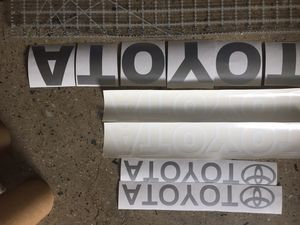 Toyota forklift sticker decals for Sale in Los Angeles, CA