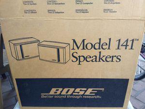 Bose Audio (Full Range) 2.0ch Stereo Bookshelf Speakers (Brand New/Still Packaged) for Sale in Austin, TX