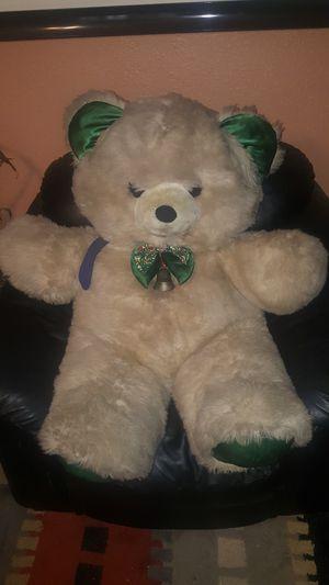 Giant jumbo Xmas plush teddy bear for Sale in Santa Fe Springs, CA