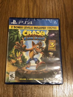 Brand new PS4 Crash Bandicoot N. Same Trilogy for Sale in Fresno, CA