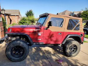 '99 Jeep Wrangler for Sale in Saginaw, TX