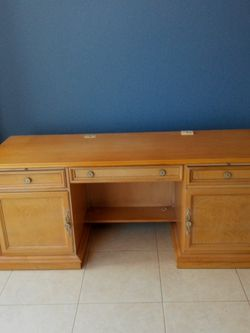 all wood antique desk for Sale in Clearwater,  FL