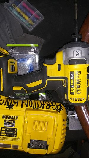 Dewalt impact drill n charger for Sale in Modesto, CA