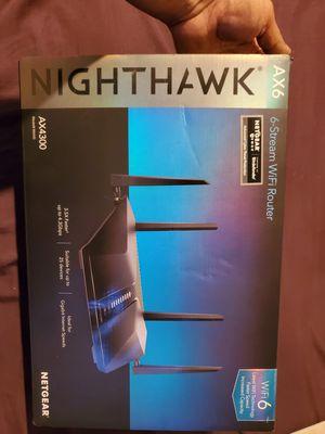Netgear Nighthawk wifi 6 router for Sale in San Jose, CA