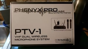 PHENY X PRO PTV-1 MICROPHONE SYSTEM for Sale in Ravenswood, WV