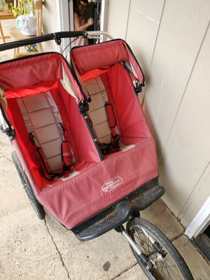 Double jogging stroller for Sale in Southlake, TX
