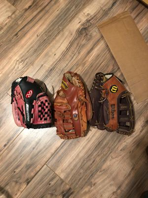 Baseball mits for Sale in San Diego, CA