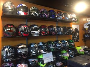 New dot motorcycle helmet $65 and up for Sale in Whittier, CA