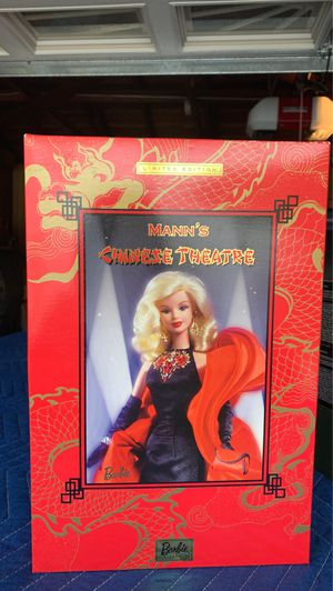 Barbie Mann's Chinese Theatre Barbie Doll for Sale in Garden Grove, CA