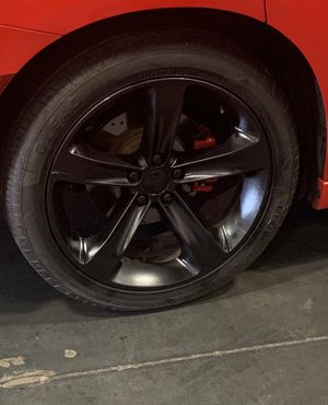 4 dodge charger oem rims and tires for Sale in Hyattsville, MD