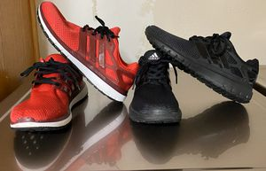 2 Pair of Men's Adidas Energy Cloud Running Shoes / Size: 9 for Sale in Cedar Hill, TX