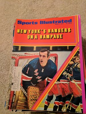 1970 sports illustrated New York Rangers for Sale in Corinth, ME