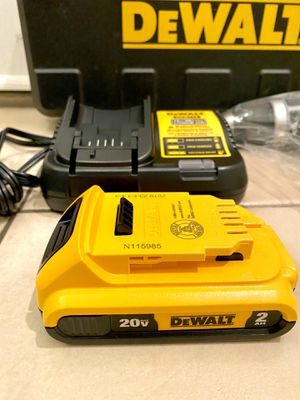 DeWalt Charger and 2.0 battery for Sale in Houston, TX
