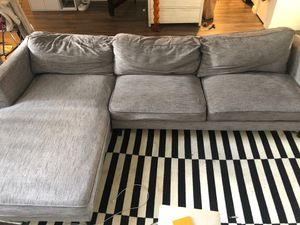 Living Spaces Sectional Couch for Sale in Los Angeles, CA