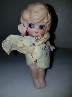 Vintage Adorable Bisque Googlie Eye Doll Side Glancing Eyes for Sale in Hesperia, CA