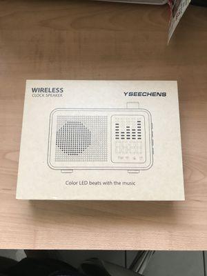 Bluetooth Alarm Clock for Sale in Covina, CA