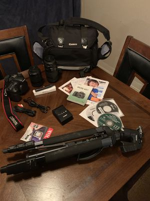 Cannon EOS 60D High-performance digital camera for Sale in Manteca, CA