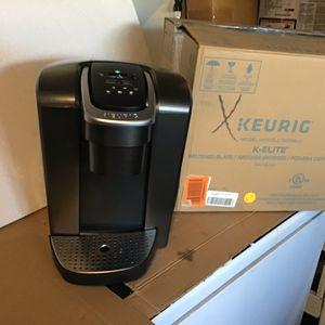 Keurig K50 elite kcup single serve coffee maker open box excellent condition in original packaging. Never used for Sale in Las Vegas, NV
