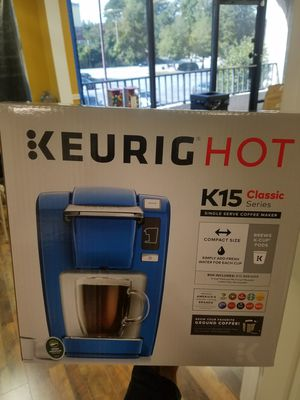 Keurig Hot K15 Classic Series Single Serve Coffee Maker for Sale in Atlanta, GA