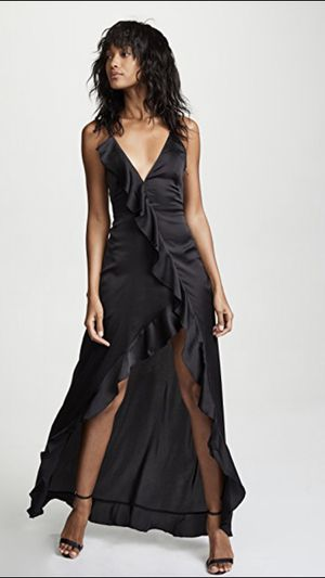 For Love and Lemons Black Isabella Maxi Dress | Size XS for Sale in Fort Lauderdale, FL